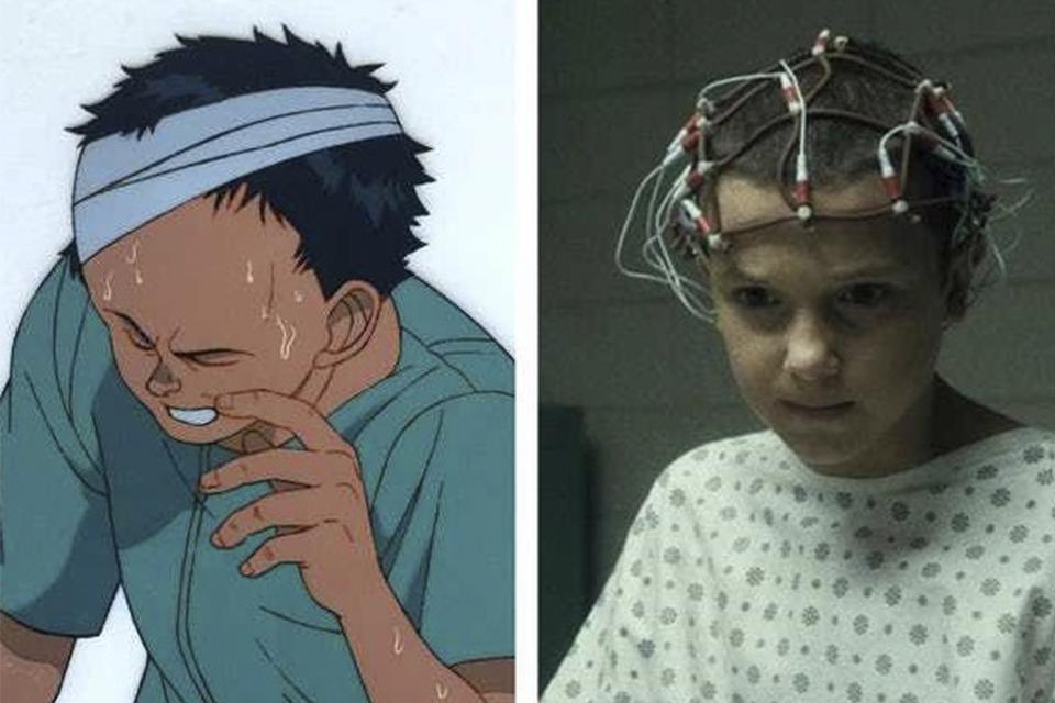 Comparações entre Tetsuo e Eleven