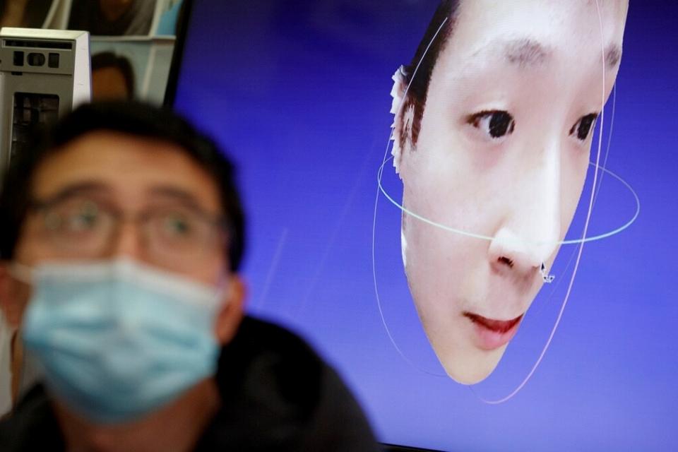 Reconhecimento facial da China já estava preparado para o Covid-19