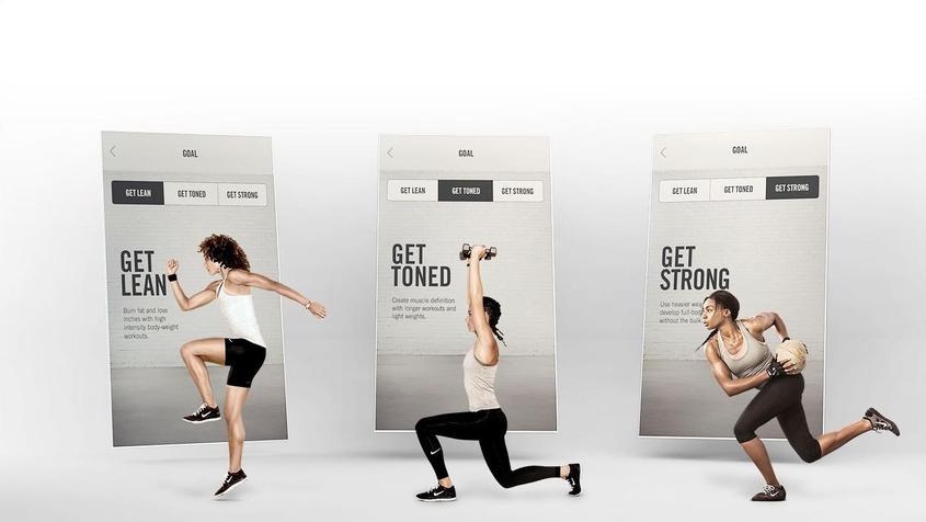 Nike Training Club App (NTC)