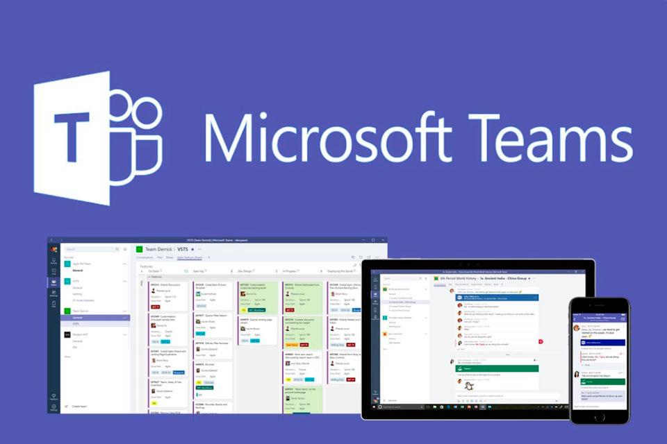 Microsoft Teams cresce 37,5% em uma semana graças ao Coronavírus