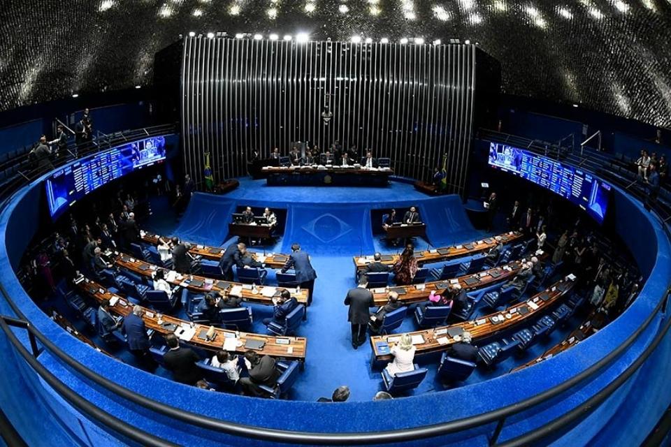 Senado aprova estado de calamidade pública por videoconferência