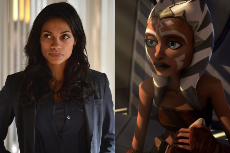 The Mandalorian: série terá Rosario Dawson como Ahsoka Tano