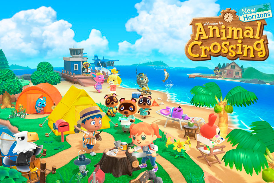 Animal Crossing: New Horizons bate recorde de vendas no Switch