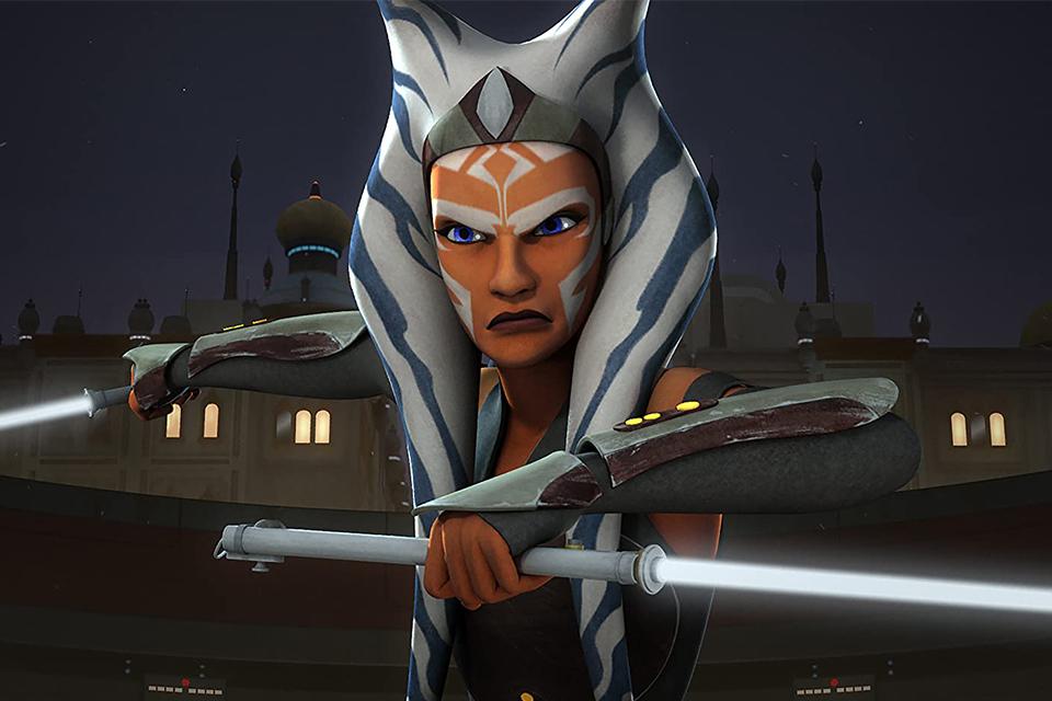 Ahsoka Tano em Star Wars: Rebels