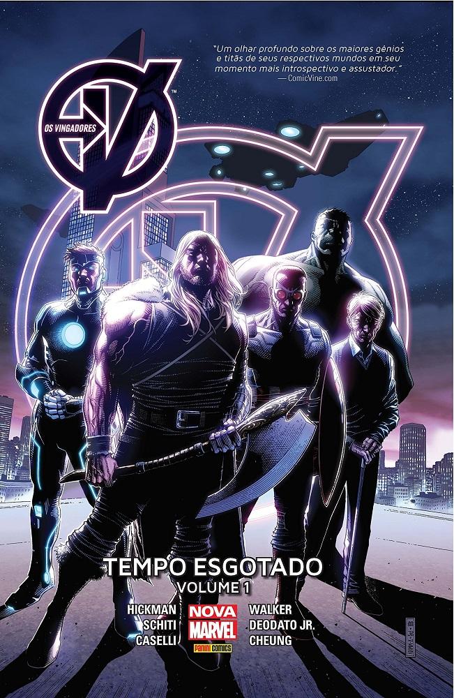 Quadrinhos dos Vingadores está disponível gratuitamente na Play Store