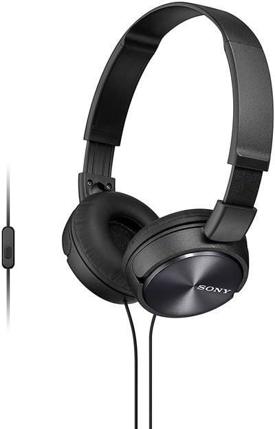 Fone de Ouvido com Microfone Sony MDR-ZX310