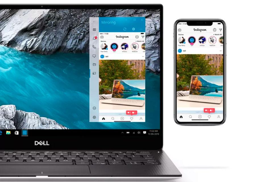 Dell agora permite controlar iPhones direto na tela do PC