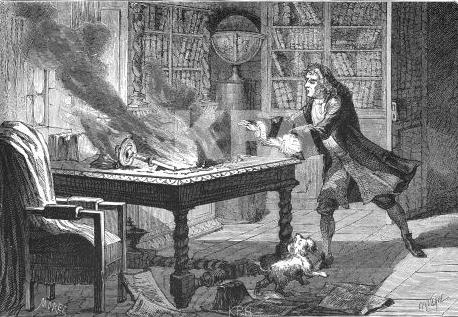 Newton deu os primeiros passos para sua teoria da gravidade durante o isolamento