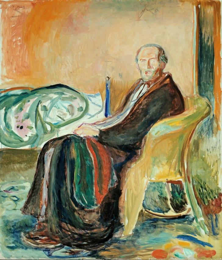 Edvard Munch não apenas viveu o isolamento como contraiu a gripe espanhola
