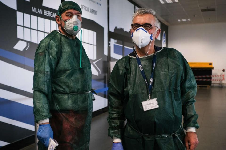 Coronavírus: fotos de como Itália está lidando com a crise