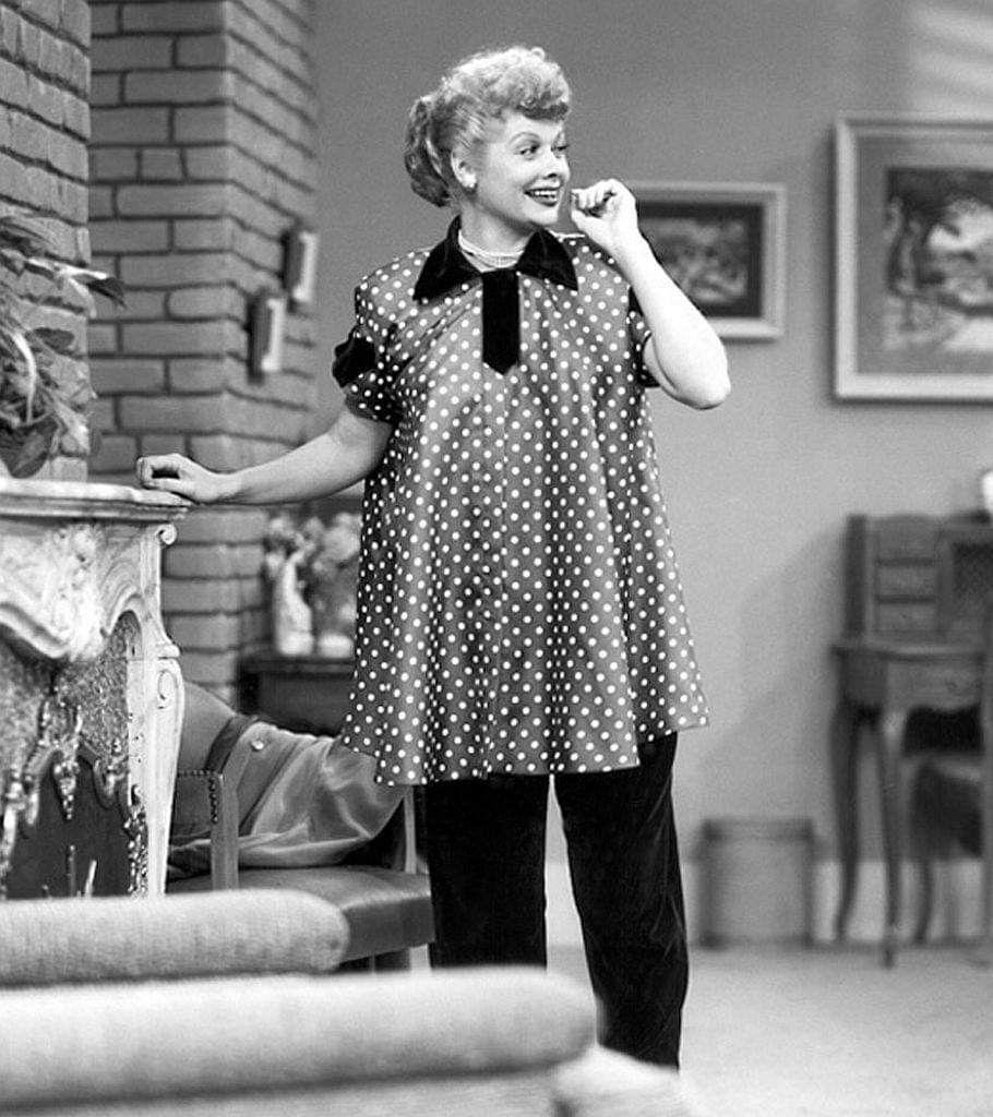 I Love Lucy foi a primeira série a mostrar uma mulher grávida