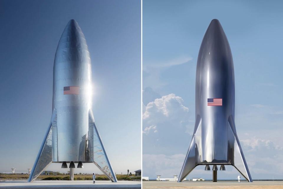 SpaceX busca ampliar a produção de naves estelares metálicas