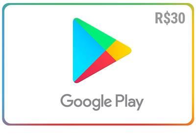 Gift Card Digital Google Play