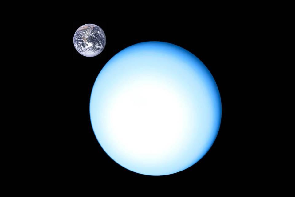 """Urano está """"vazando"""" gás, revela NASA"""