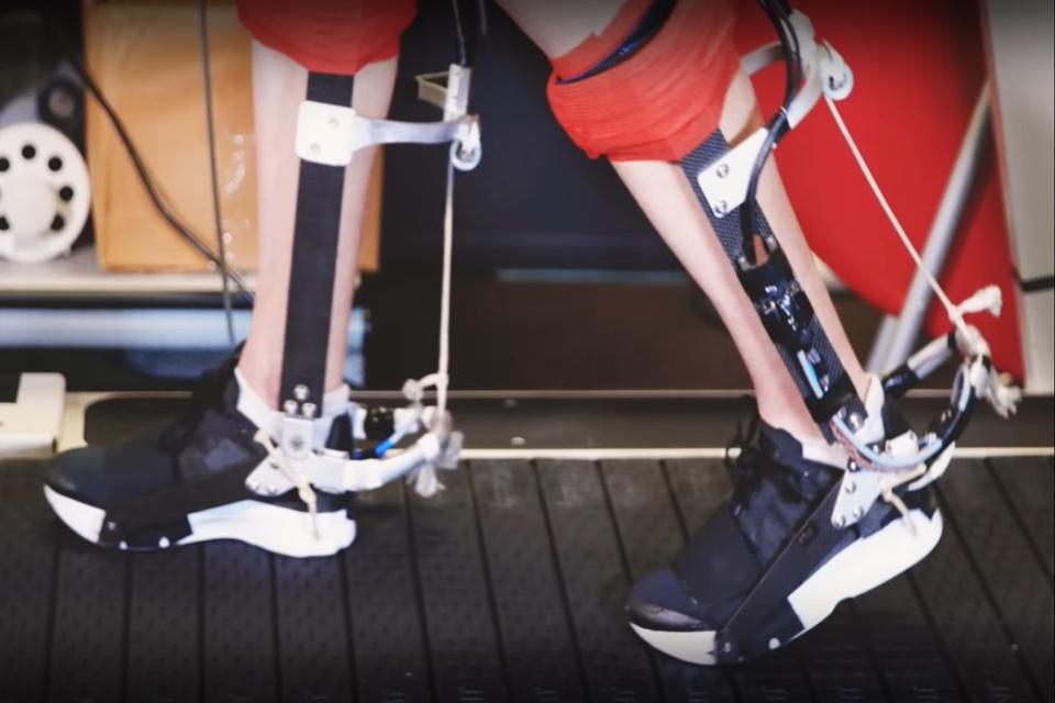 Cientistas criam exoesqueleto para o tornozelo que melhora corrida