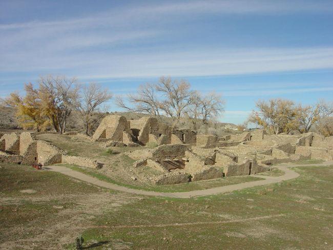 Monumento Nacional das Ruínas Astecas. (Fonte: USGS/Reprodução)