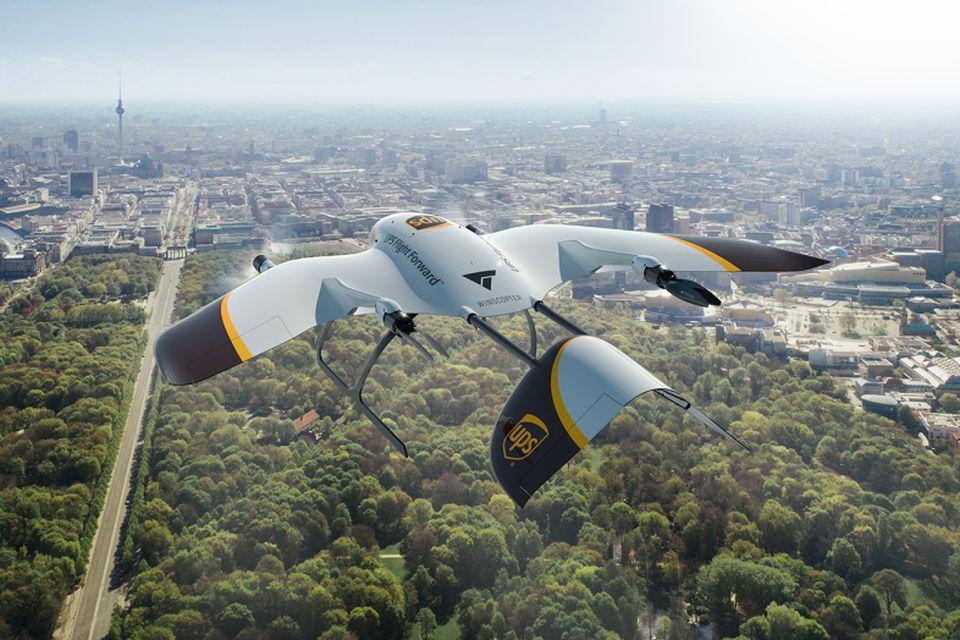 UPS anuncia nova geração de drones de entrega versáteis