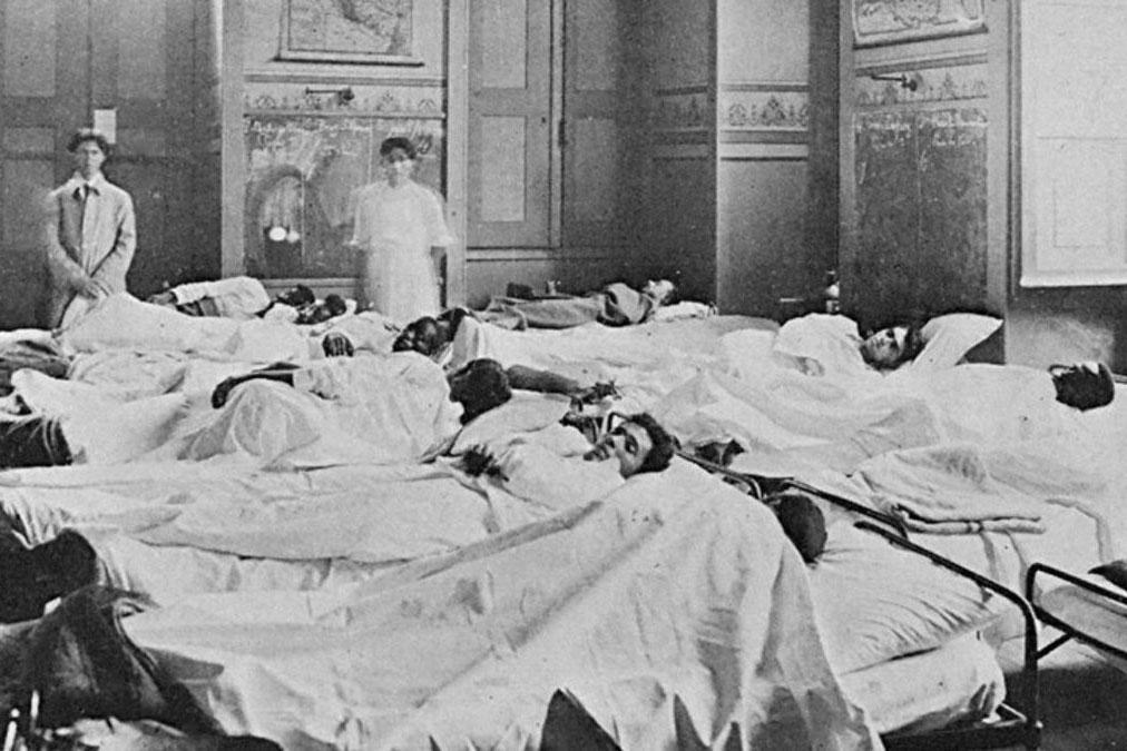 Gripe espanhola de 1918: omissões, cura falsa e medo
