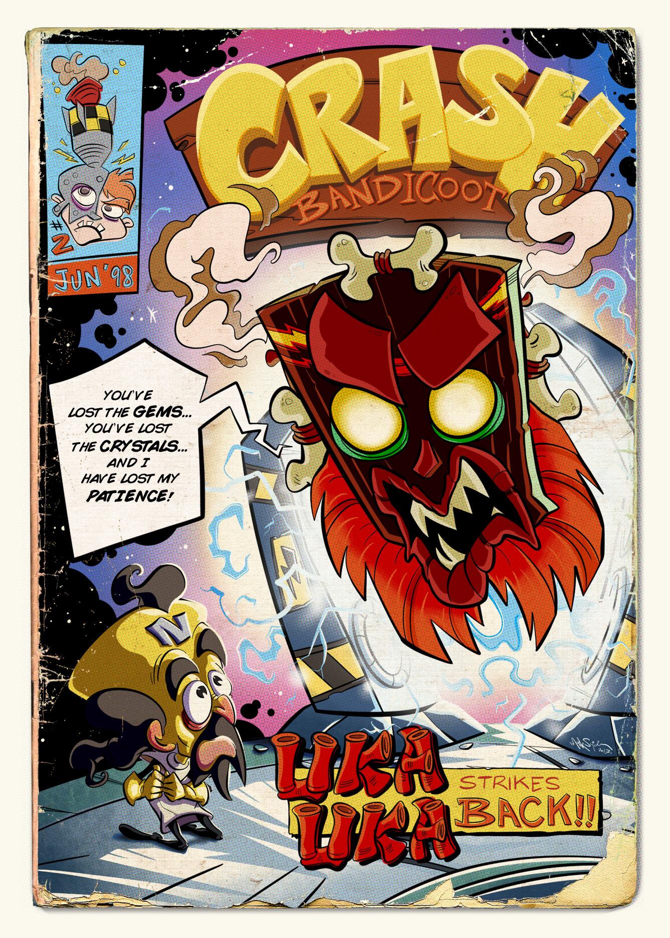Artista recria icônicos momentos de jogos em capas de HQs antigas