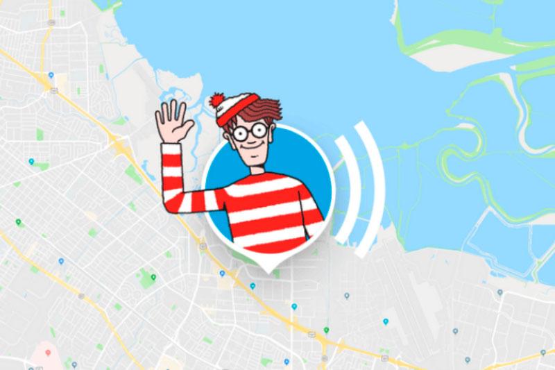 Em uma das brincadeiras mais recentes da empresa, os usuários podiam encontrar Wally no Google Maps