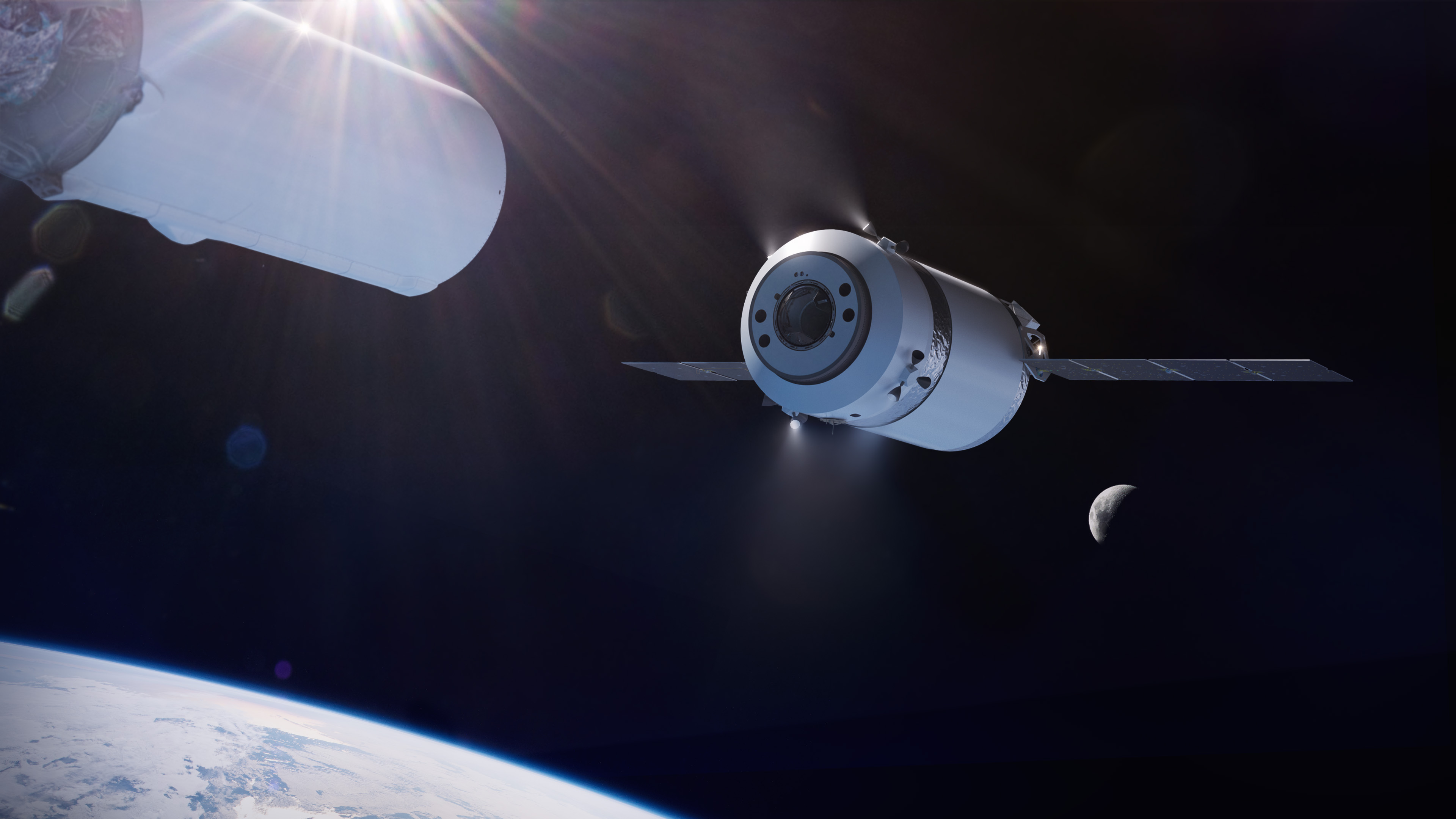 NASA contrata SpaceX para missão na órbita lunar