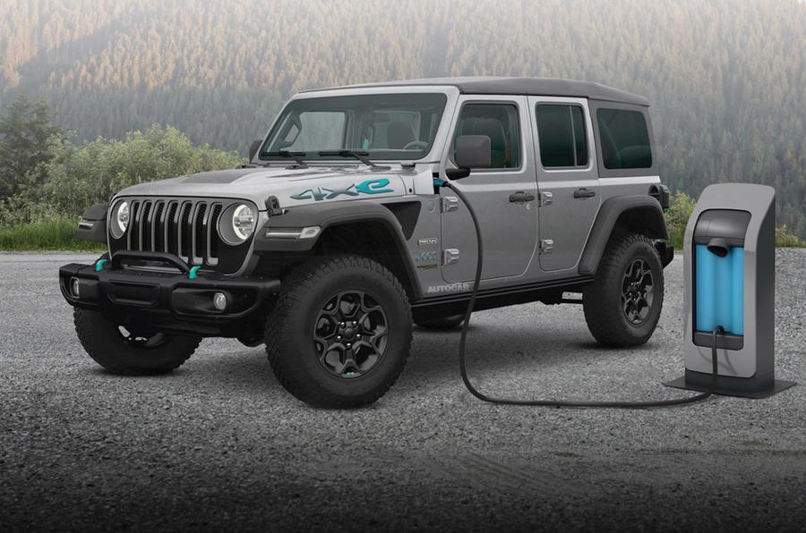 O Wrangler pode ser o primeiro modelo 100% eletrificado da Jeep.
