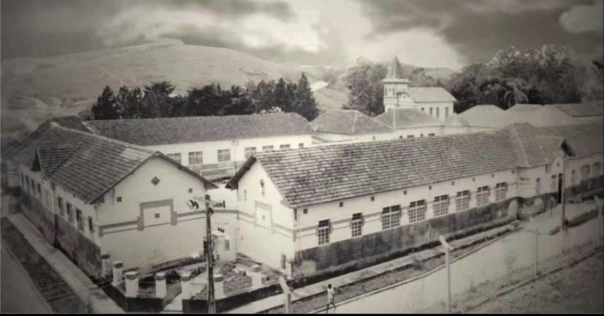 Os pavilhões do Hospital Colônia