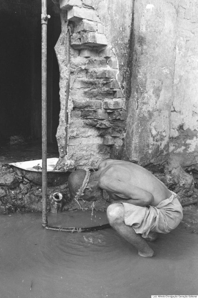 Na Colônia, não havia água encanada ou saneamento adequado