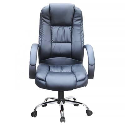 Cadeira Escritório Presidente, com base cromada