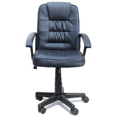 Cadeira Escritório Presidente, Giratória, Assento Em Pu
