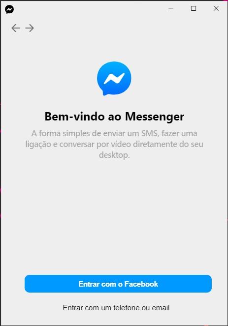 Messenger para Windows está disponível na Microsoft Store