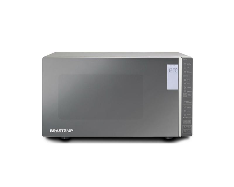 Brastemp BMG45AR Grill é opção de micro-ondas com grill