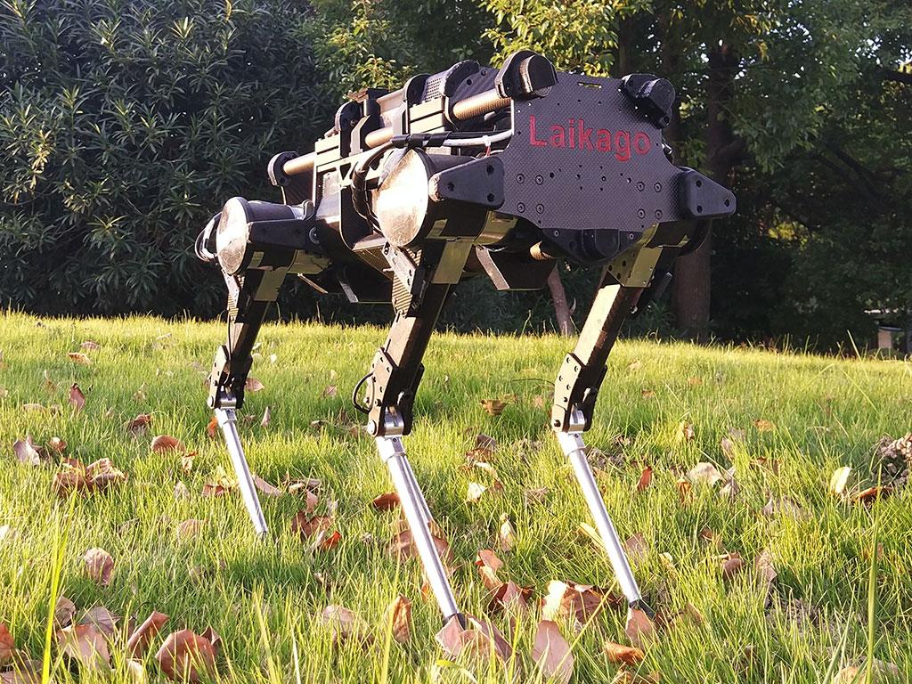 O robô foi batizado em homenagem à Laika, primeiro cão a ir ao espaço.