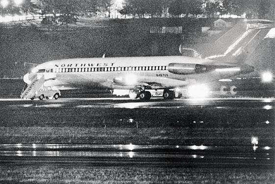 O Boeing da Companhia Aérea Northwest Orient Airlines