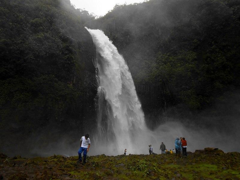 A cachoeira de San Rafael atraia milhares de turistas todos os anos