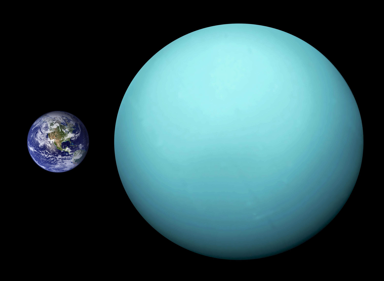 Luas de Urano e Terra podem ter sido formadas da mesma maneira