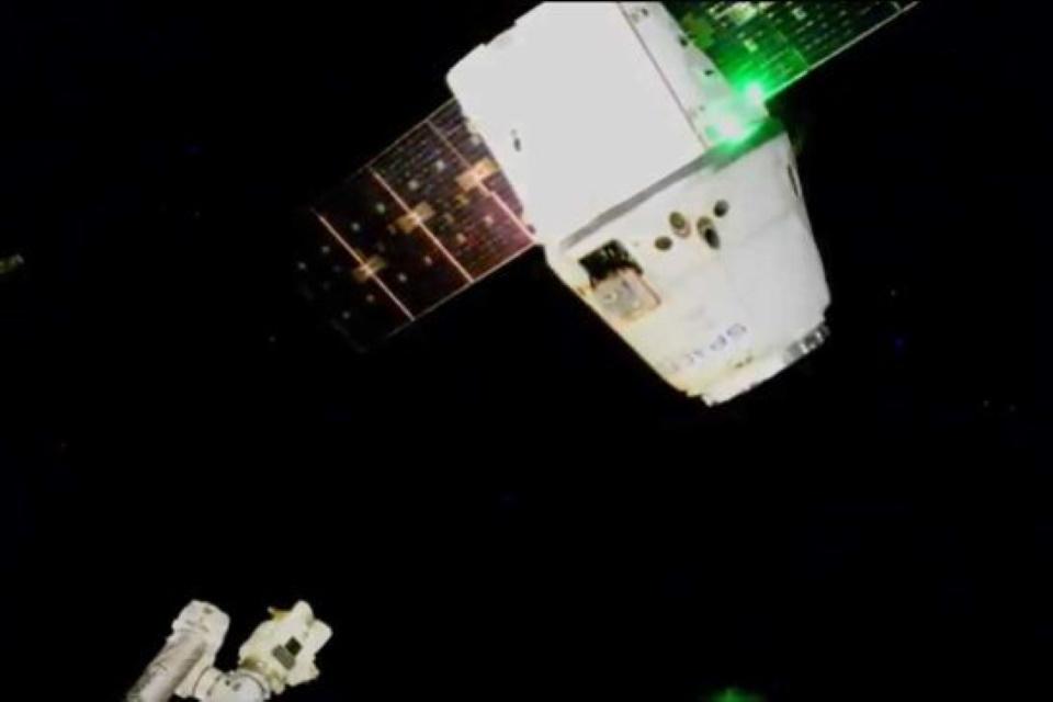 Dragon CRS-20 em órbita