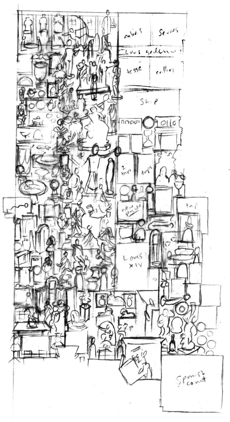Espoço da construção do mapa (John Kerschbaum/Reprodução)