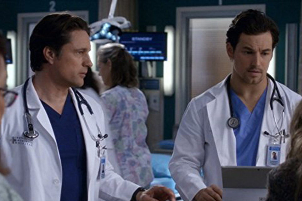 Os personagens Nathan e Andrew DeLuca