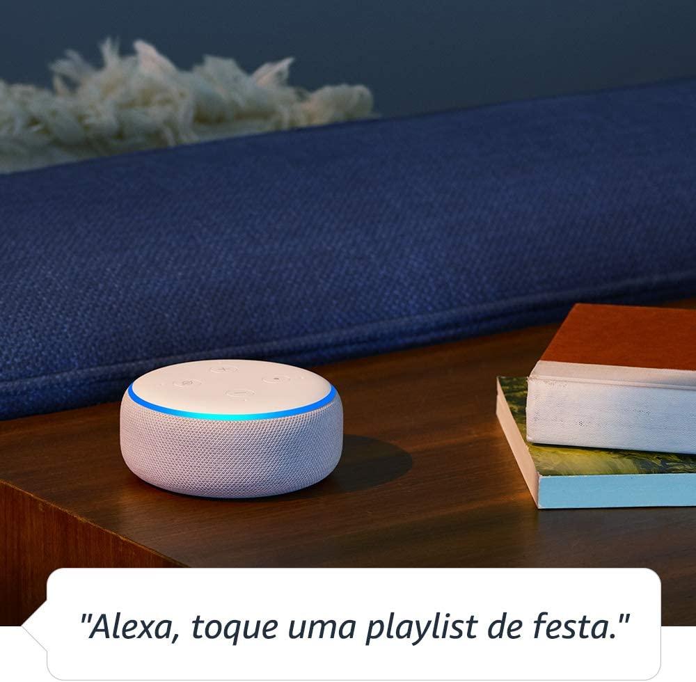 A linha de smart speaker Echo ajudam os usuários nas tarefas diárias.