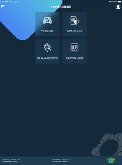 O app é gratuito e precisa de cadastro para ser usado.