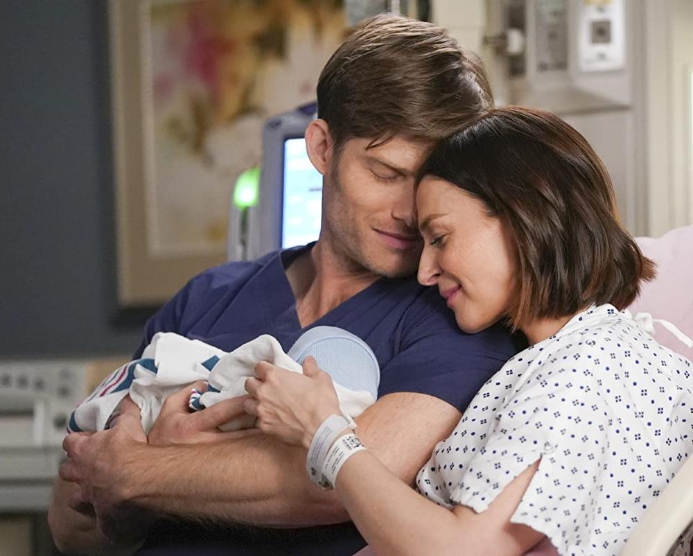 Amelia e Link finalmente têm seu bebê