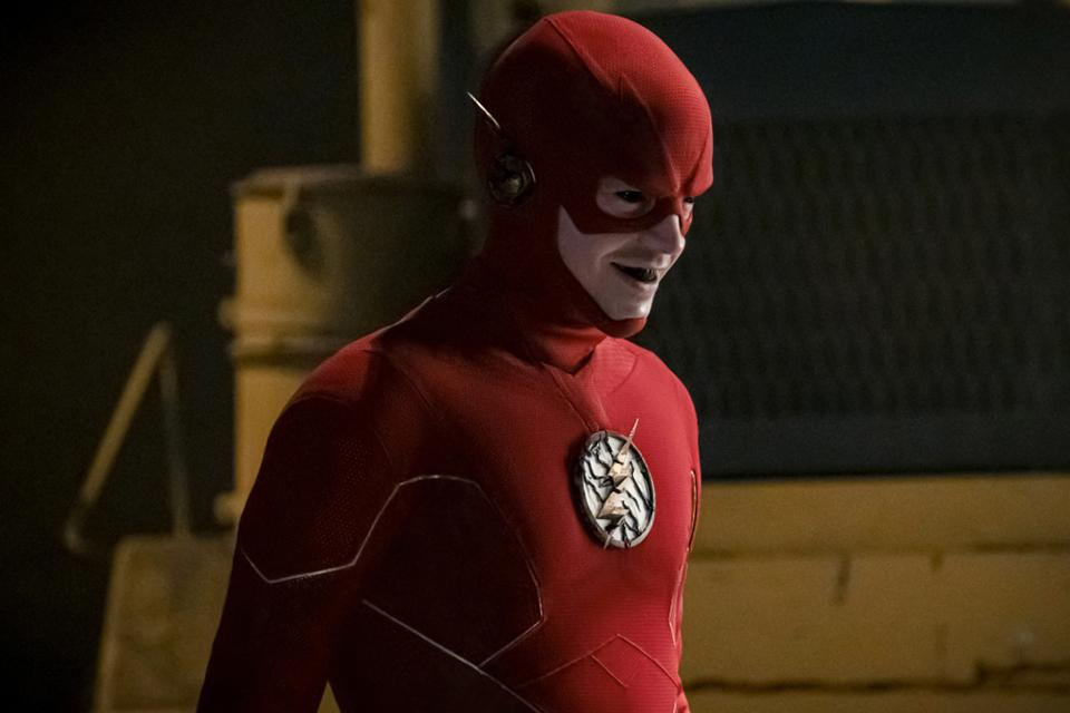 O Flash Negativo na série