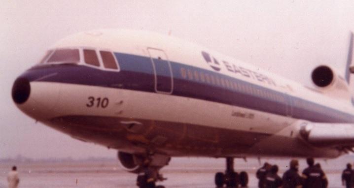 Uma aeronave modelo TriStar L-1011