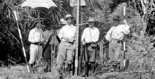 Fawcett e os peões da fazenda de Galvão. (Fonte: Adventure Journal / Reprodução)