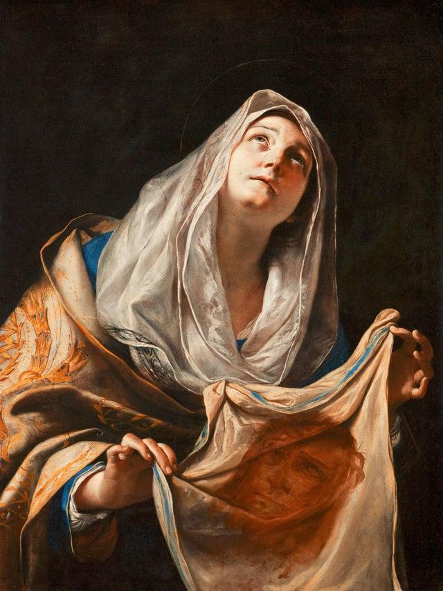 Representação de Santa Verônica de Jerusalém (Fonte: Reddit / Reprodução)