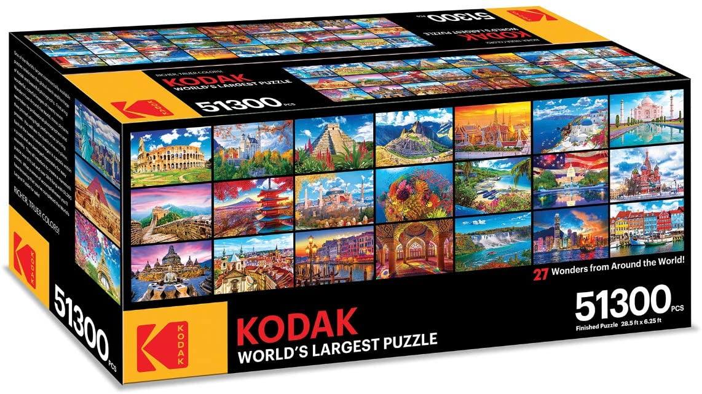 Quebra-cabeça da Kodak conta com mais de 51.300 peças (Fonte: Amazon / Reprodução)