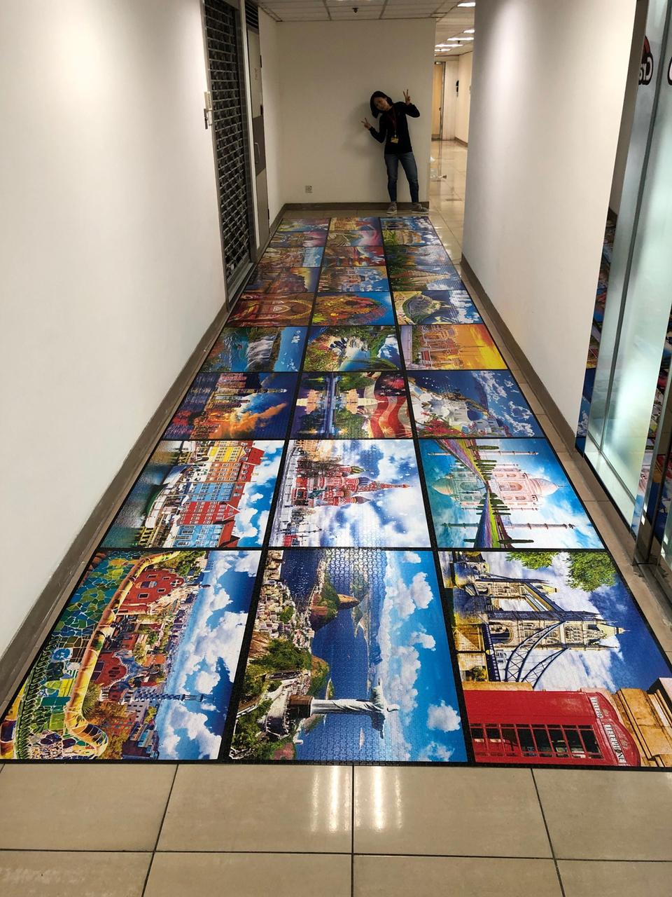 Novo Puzzle da Kodak mede 8,6 metros de largura (Fonte: Serious Puzzles / Divulgação)