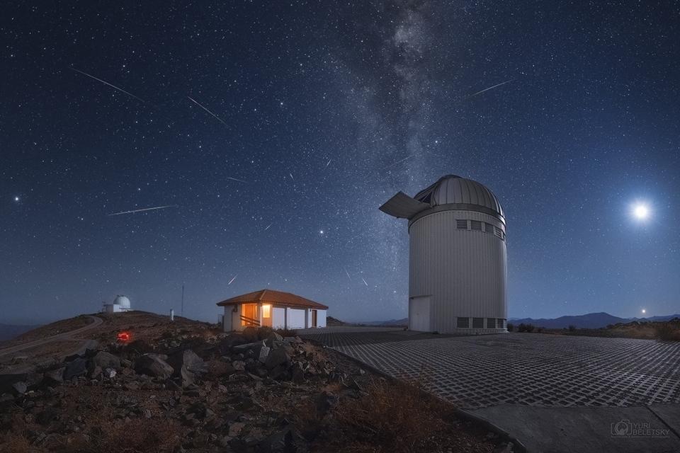 Lyridien meteorisuihku miehitti taivaan keskiviikkona
