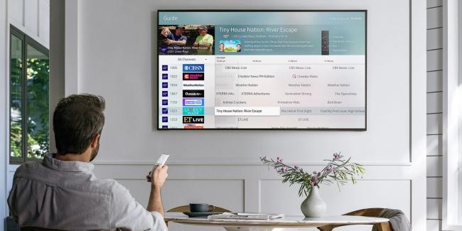 O serviço online vem pré-instalado em algumas smart TVs Samsung.